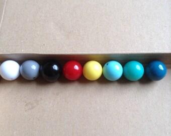 Large acrylic beads 20mm