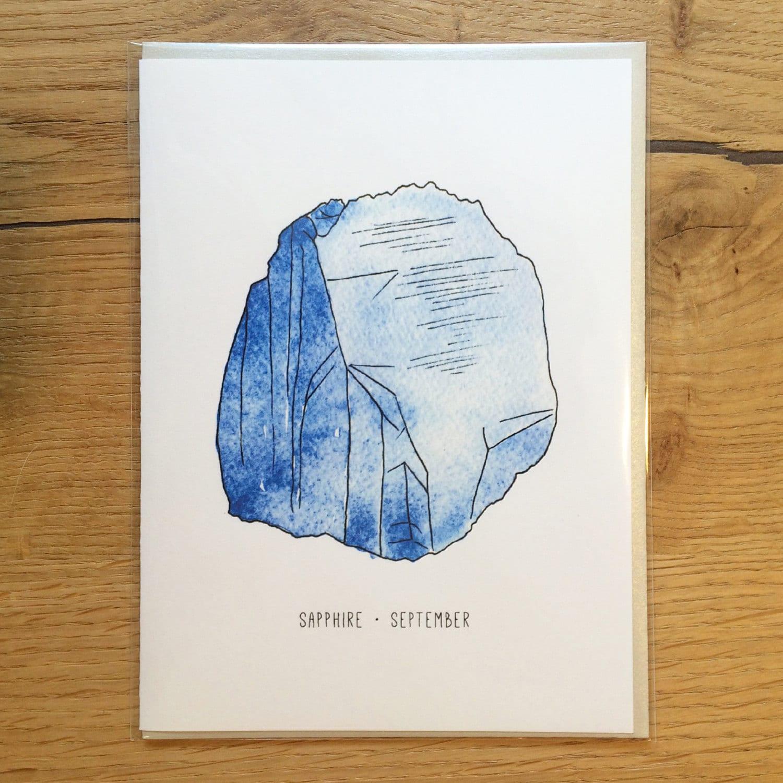 Birthstone Greeting Card