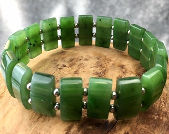 Canadian Jade Bracelet - 1586 - Jade Gifts - Jade Jewelry - Bracelet