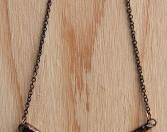 Twig Necklace (Wide V)