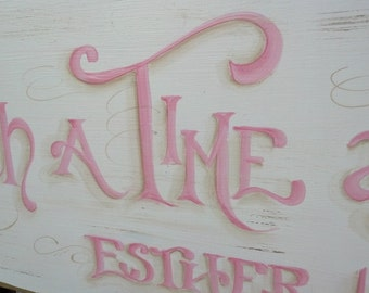 Baby Gift Scripture Sign ...for such a time as this