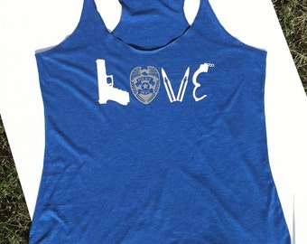 Love Police soft tank top
