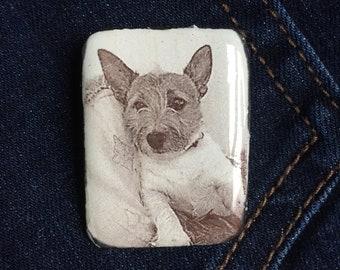 Dog memorial pin, enamel pin,  Pet pin,  Enamel pin,  Enamel cat pin,  Dog lapel pin,  Dog jewellery,  Dog gifts,  Dogs, Pets