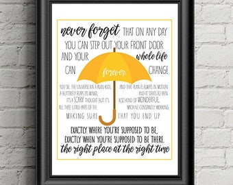 How I Met Your Mother Print - Wall Decor