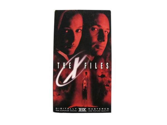 The X-Files Movie VHS