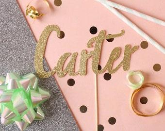 Personalized Name Cake Topper // Name Cake Topper // Custom Topper // Cake Topper // Personalized Cake Topper // Custom Cake Topper