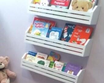 Children's Book Shelf---Set of 3