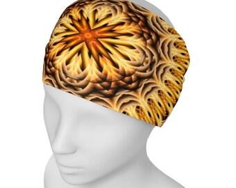 Wide Headband, Festival Headband Boho, Dreadlock Headband, Hair Band For Men, Womens Gypsy Headband, Head Scarf For Men, Wide Yoga Head Wrap