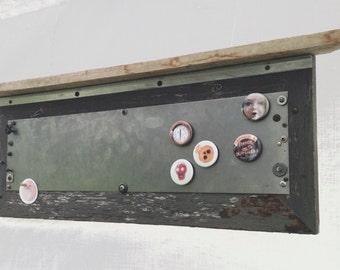 Magneto bulletin board