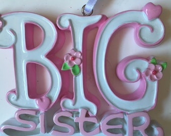 33% Off Big Sister Personalized Christmas Ornament Baby's  First Christmas, sibling Ornament