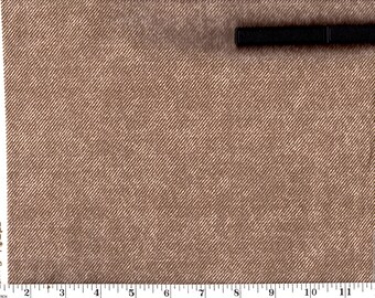 1 Yard, VIP Brown Denim Style Cotton