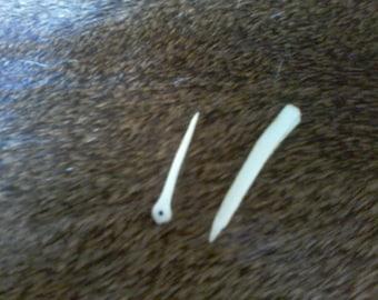 Stone Age Bone Sewing Kit