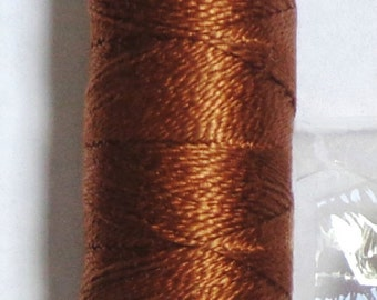 Pearl Iris Cotton Thread size 8-color med brown ( 433)