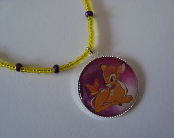 Deer necklace for children