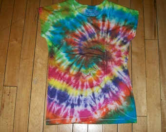 Girls tye dye tshirt