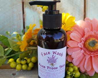 Natural, Organic Acne Prone Face Wash
