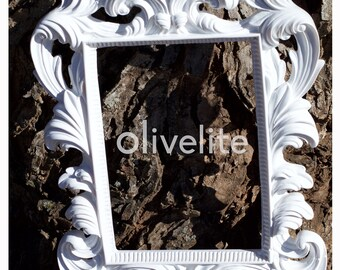 Vintage style baroque frame 6.5x4.5