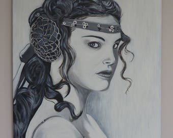 Portrait of PADME Amidala (Natalie Portman) - STAR WARS