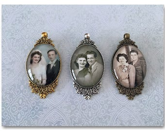 Custom Family Heirloom Photo Ornament