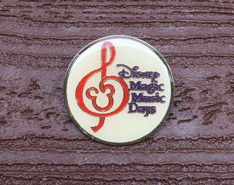 Vintage Jewelry Walt Disney World Magic Music Days Pin Brooch