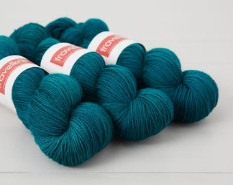 BFL Supersock British Bluefaced Leicester / Nylon sock yarn - Dabbling Duck