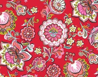Josephine Kimberling for Blend Fabrics Riding Hood Babushka Red (Half metre)