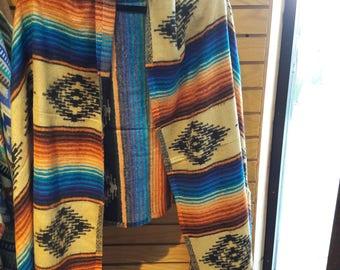 Ultra fine very soft acrylic Sante Fe shawl