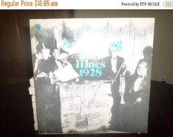 Save 30% Today Vintage 1975 Vinyl LP Record Louis Armstrong And Earl Hines The Smithsonian Collection Excellent 6023