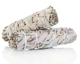 White Sage Smudge Bundle | Smudging Bundle | Ritual Tools | White Sage Smudge Stick | Sage Stick | Sage Smudge | White Sage Stick