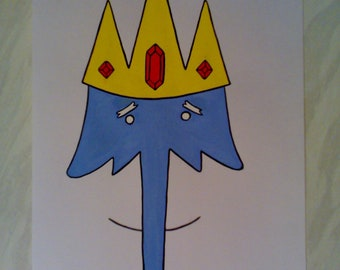 Ice King - An Original Adventure Time Painting By R.McCutcheon