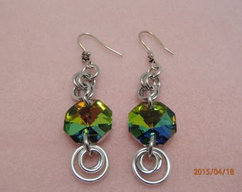 Gem Maille Earrings