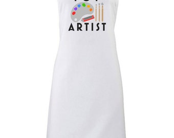 Top Artist Apron Art Painting