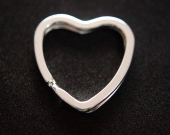 SHAPE heart key ring
