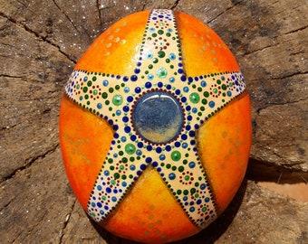 Painted Stone, Rock, Pebble