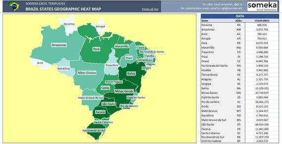 Brazil heat map generator dynamic printable excel template brazil heat map generator dynamic printable excel template gumiabroncs Gallery