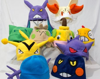 Monster in your Pocket Hats. Finished and ready to ship