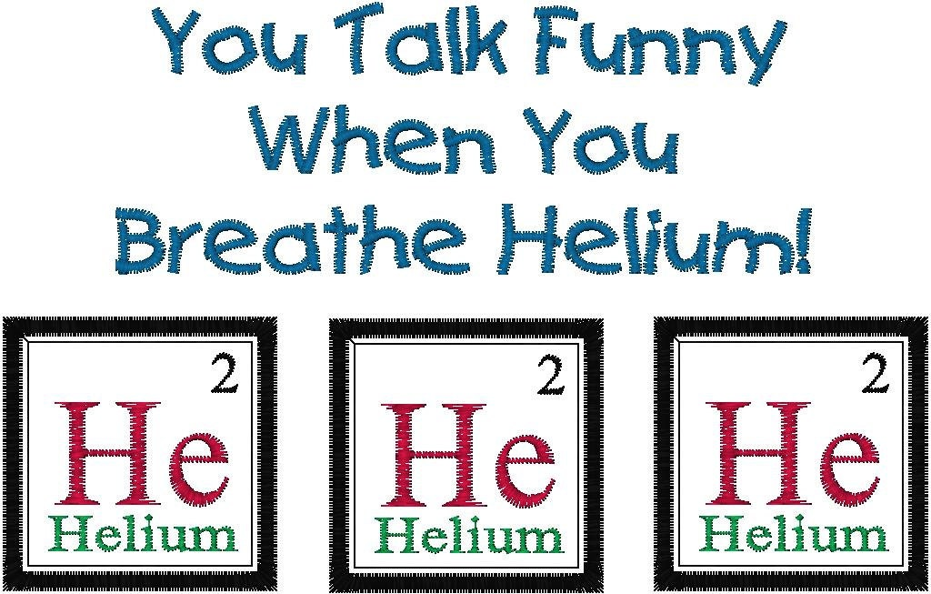 Periodic table joke helium embroidery design you talk funny zoom urtaz Choice Image