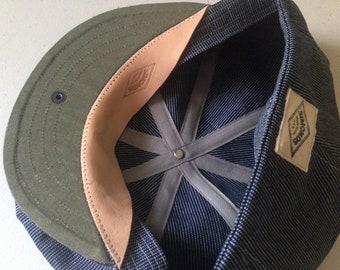 Men's vintage style cap size 62 cm
