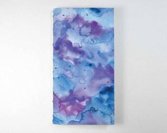 Travelers Notebook Insert - Purple Watercolour. Bullet Journal, Midori Insert, Fauxdori Insert, Planner Insert, Traveler's Notebook Refill.