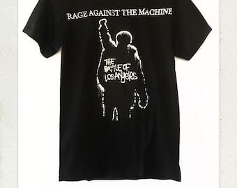 Rage Against The Machine Battle For LA T Shirt