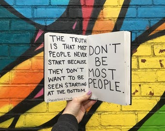 Don't Be Most People