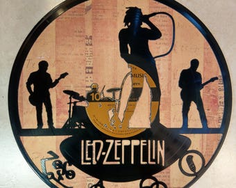 Led Zeppelin Vinyl Record Art