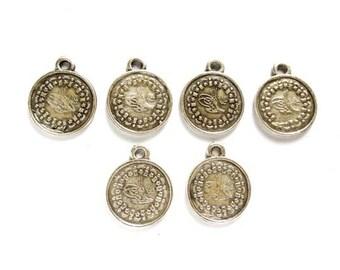 6 Tughra Coin Charms - 27-5-2