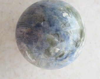 Kyanite Sphere 35mm for Home or Office Decor Collectible Crystal Ball