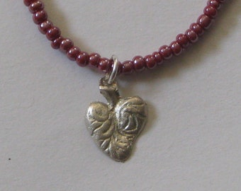 Milagro Necklace -- Heart