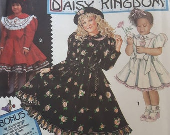 Simplicity 8086, Daisy Kingdom Girl's Dress Sewing Pattern