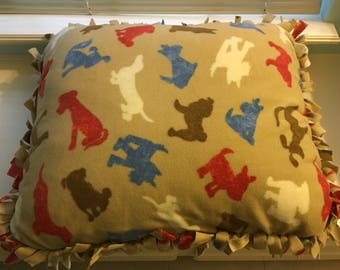 Multi-colored Dog Bed - Small