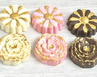 1 Dozen Daisy Chocolate Covered Oreos-Bridal Shower-Wedding Favor-Birthday Favors-Mother's Day Gift-Spring/Flower Party Treats