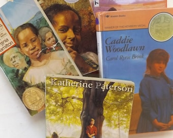 Newberry Award Winning Literature for Young Readers: Set of Four plus Bonus Book