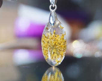 For Yellow Resin Flower